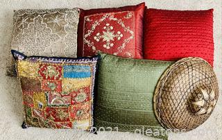 Ravishing Pillow and Decor Lot