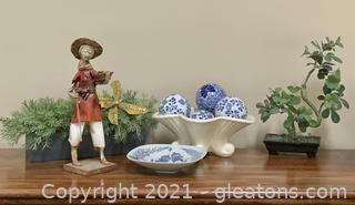Attractive Asian Inspired Decorators Lot!