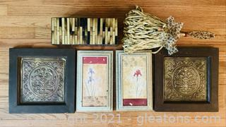 Captivating Picture Lot with Decor Box