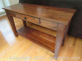 Sturdy Sofa/Hall Table