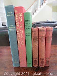Six Books: Historic to Current
