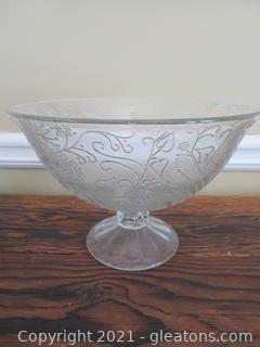 Vintage Compote Bowl