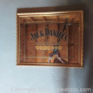 Nice Jack Daniels Mirrored Bar Sign