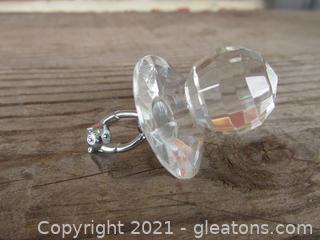 Crystal Pacifier Figurine B