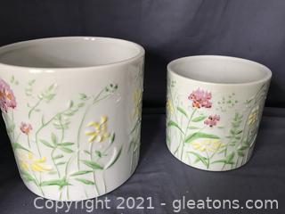 Stunning flower pots