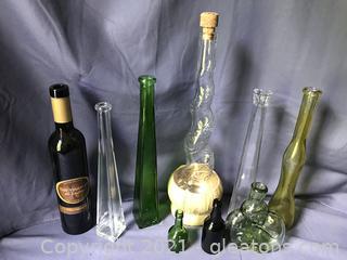 9 bottles