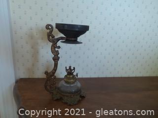 Antique Cresolene lamp original wick.