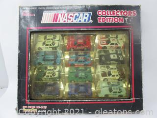 Racing Champions 12-Nascar Collectors Edition Die Cast Stock Cars