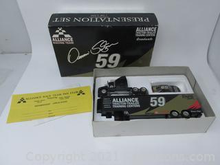 Alliance Racing Team #59 Track Trailer & Race Car
