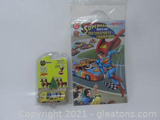 Superman Meets The Motorcross B Collector Edition Happy Holiday Car#3