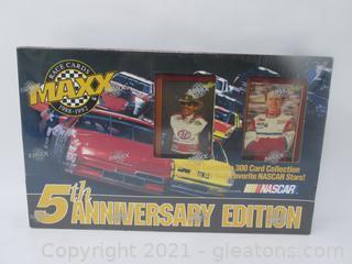MAXX 5th Anniversary Edition Nascar Cards - 300 Cards NIB