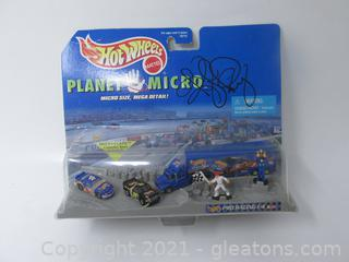 Hot Wheels Planet Micro - Autographed By Kyle Petty