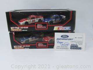 Bill Elliott 1991 Racing Thunderbird Limited Edition Stock Car Replicas