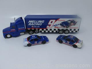 Bill Elliott Racing Champion Truck and Car # 9