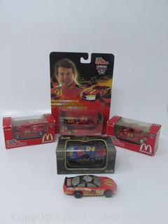 Bill Elliott Lot of Five Cars # 94 Die-Cast