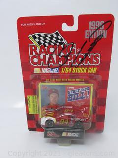 Bill Elliott AUTOGRAPHED 1996 Stockcar of Racing Champions Die Cast