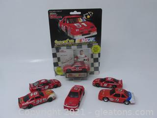 Bill Elliott Race Cars - Six Cars