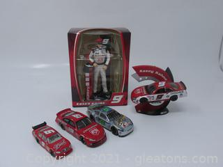 Kasey Kahne 4 Die Cast Cars & Collectable Ornament