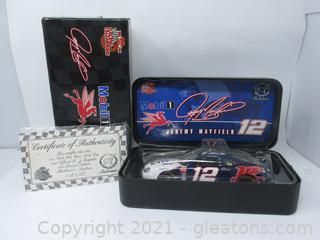 Jeremy Mayfield Racing Champions No.12 Ford Diecast with COA