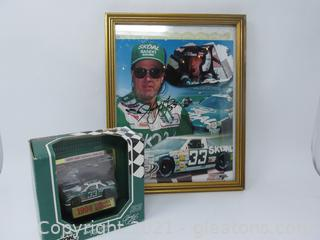 Harry Gant Autographed Picture Limited Edition Farewell Tour 1994