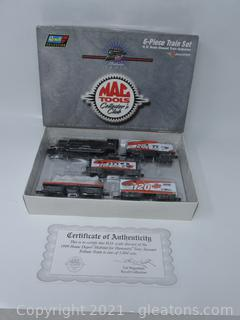 Tony Stewart Revell 6-Piece Train Set - NIB, Numbered 1 of 5004, with COA