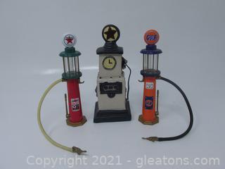 3 Gas Pumps