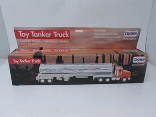 Crown Toy Tanker Truck