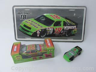 Dale Jarrett Action No.88 Racer 3 piece Lot