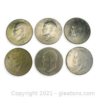 Eisenhower Liberty Bell One Dollar Coin Lot