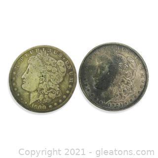 Morgan Dollar Lot