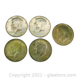 1968 Kennedy Half Dollar Lot