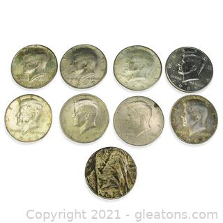Kennedy Half Dollar Lot (Random Years)