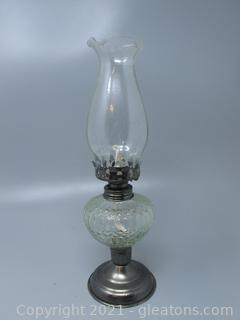 Striking Oil Lamp