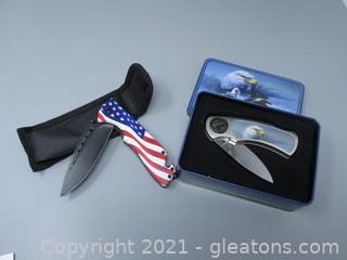 Two Patriot Knives