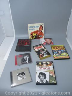 Elvis Memorabilia - Book, CD's, DVD's, 45 Cover