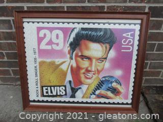 Elvis 29 Stamp Puzzle Picture