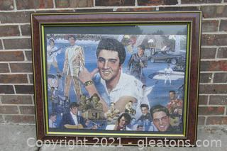 Puzzle Picture of Elvis in Movie Blue Hawaii