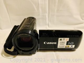Canon VIXIA HF R600 Camcorder