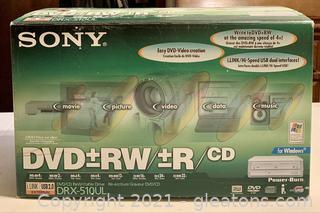 Sony DVD+ RW/+R/CD