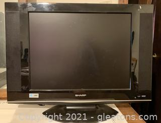 "Sharp 19"" Flat Screen T.V."
