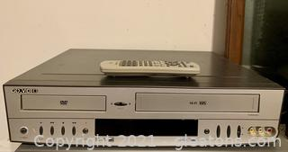 Go Video VHS\DVD Player