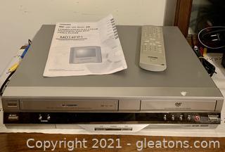 Toshiba DVD\VHS Player