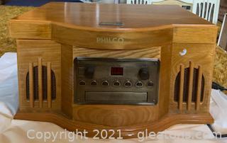 Philco Record/CD/Cassette Player