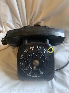 Black Rotary Dial Telephone II
