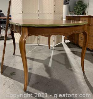 French Bassett Furniture Provincial Dining Table