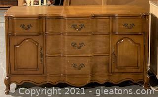 Bassett Furniture French Provincial Buffet