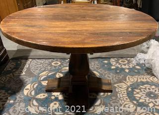Round Pedestal Breakfast Table