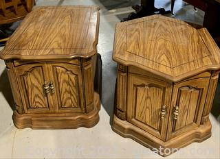 A Pair of Retro End Tables