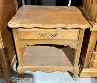 Bassett Crown Cherry Collection Night Stand