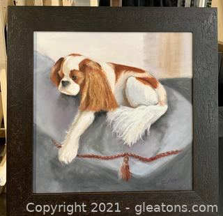 Original King Charles Spaniel Painting